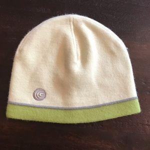 NWOT Columbia Yellow & Green Knit Hat